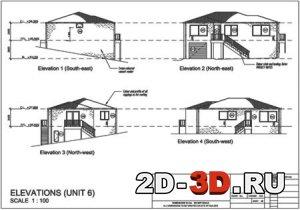 чертеж дома - Всемирная схемотехника.