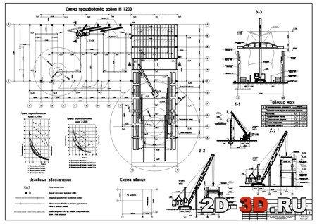 Монтаж строительных