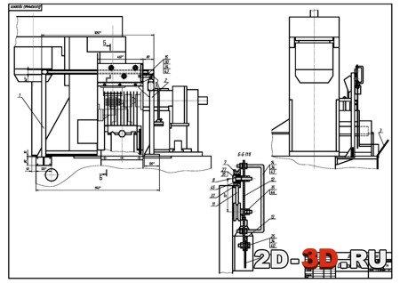 Агрегатно-фрезерный станок.