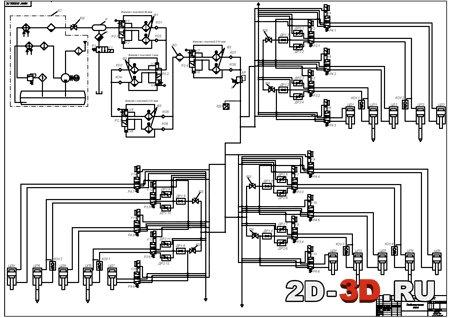 система электролизера для