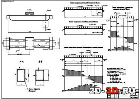 принципиальная схема мостового крана 10 тонн
