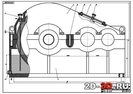 редуктор 2 Двухступенчатый
