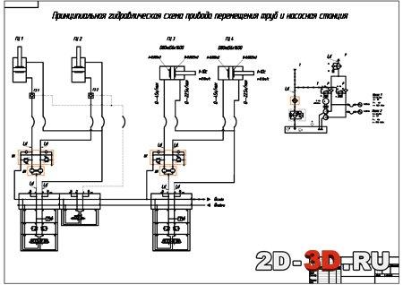 разработка принципиальной схемы устройства
