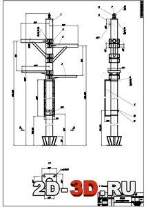 Разработка проекта канатной буксировочной дороги для горнолыжного комплекса