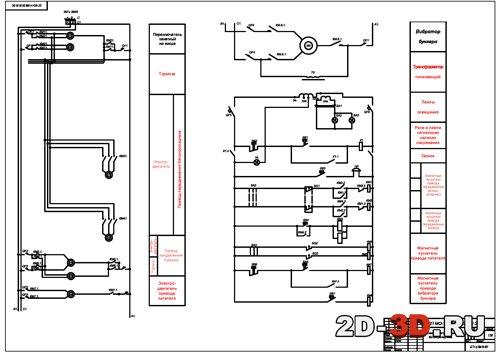 Тележка Электрическая схема