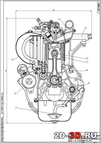 Drawing Lines In Mathcad : Проектирование двигателя внутреннего сгорания Д