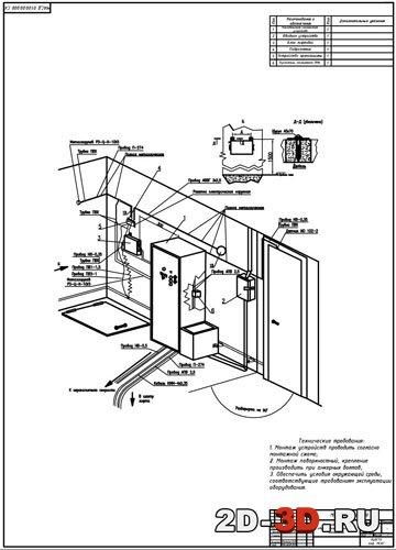контроля работы лифтов с
