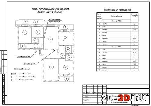 Серия II49 перепланировка квартир