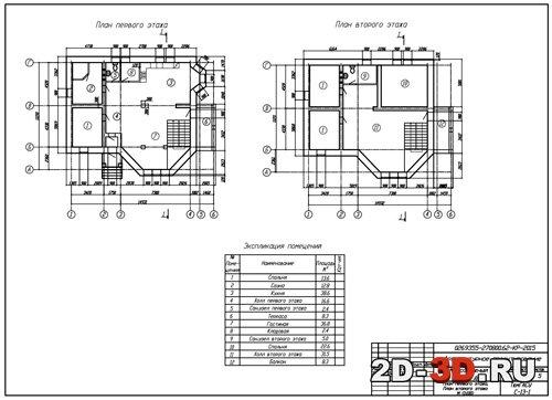 1этажный дом из газобетонных блоков  X1352P