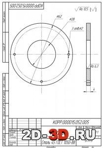 3d модели двигателей в компас