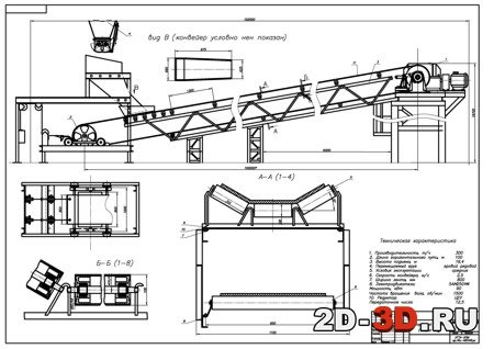Конструкция ленточного конвейера дробилка для щебня стоимость краснодар