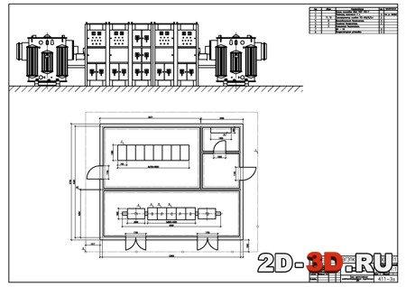 Курсовой проект Электроснабжение электроремонтного цеха Чертежи  Электроснабжение электроремонтного цеха Курсовой проект