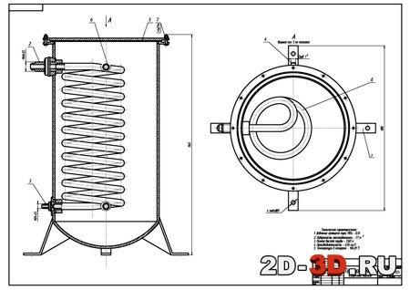 Конструкция теплообменников и змеевиков Кожухотрубный испаритель Alfa Laval FEV-HP 2412 Сарапул