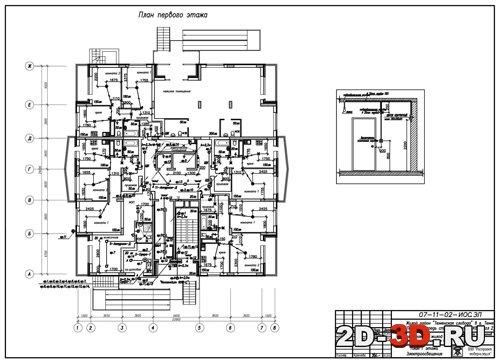 Осуществляется электроснабжение нежилого помещения, расположенного в жилом доме 1 категория на электроснабжение