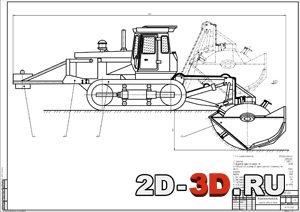 Самодельный бульдозер на МТЗ 80: пошаговая инструкция.