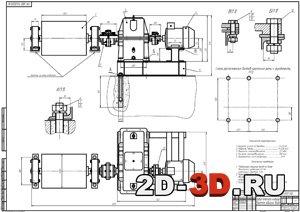Привод конвейера чертежи общего вида каталог на конвейерное оборудование