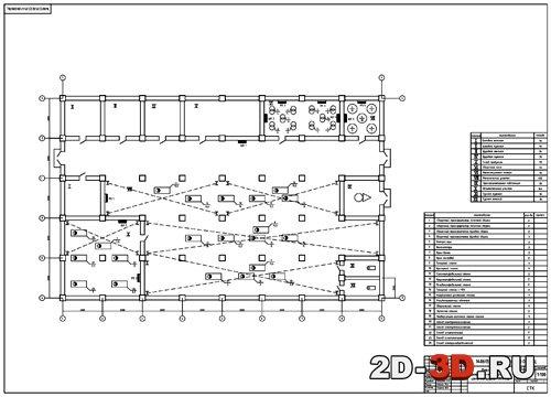 Электроснабжение ремонтно механического цеха чертежи и расчеты в  Планировка ремонтно механического цеха