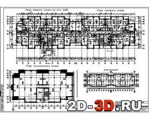 Типовой план этажей