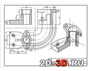 Инженерная графика вариант № 8