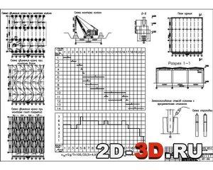 Монтаж одноэтажного промышленного здания