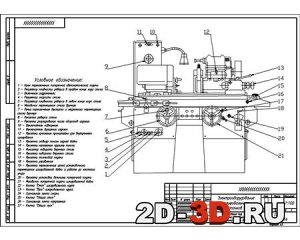 Универсальный круглошлифовальный станок модели ЗБ12