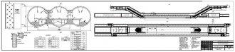 1.Продольный профиль, схема и план станции глубокого заложения