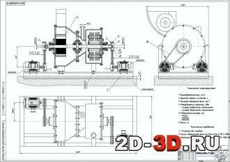 Измельчитель игольчатый роторно-центробежного типа для измельчения волокнистых материалов, входящая в состав агрегата для производства сухих смесей