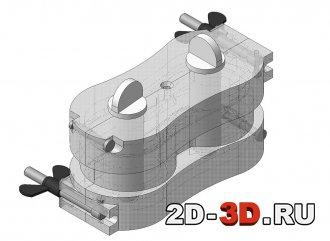 Форма для выплавляемой модели