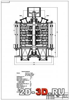 Дробилка молотковая вертикальная МВД-105а