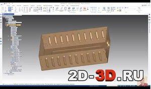 Проектирование деталей из листового материала в Solid Edge
