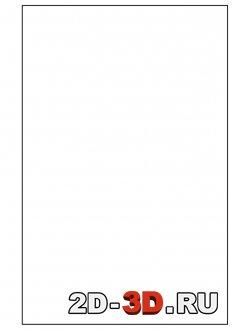 Рамка для листа А4