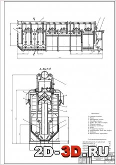 Глубокая аэролифтная флотационная машина АФМ 2,5