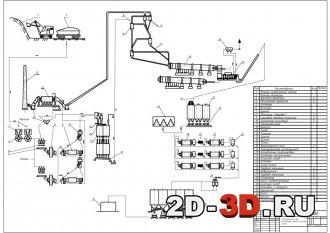 Проектирование технологической схемы по производству цемента по сухому способу