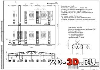 Проектирование склада и процесса перегрузки арматурных каркасов