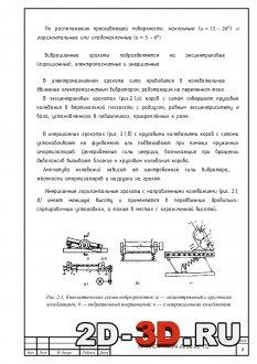 Вибрационные грохоты подразделяются на эксцентриковые (гирационные), электромагнитные и инерционные