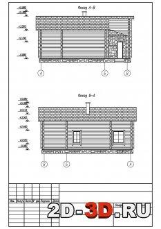 Фасады в AutoCAD