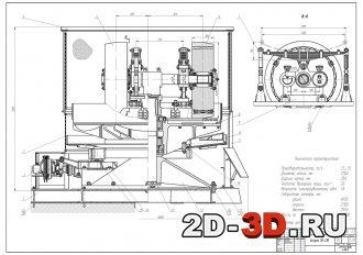 Модернизация катка бегунов мокрого измельчения СМ-21Б