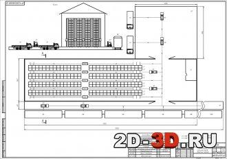 Комплексная механизация работ на складе штучных грузов с грузовым потоком 115000 т/год