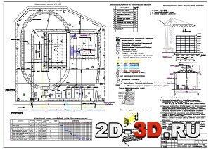 Технология строительного производства работ многоэтажного здания