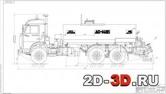 Модернизация трансмиссии автогрудронатора