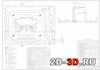 Разработка объективного строительного генерального плана на строительство панельного санатория
